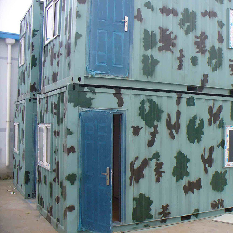 High quality temporary work place prefabricated homes container