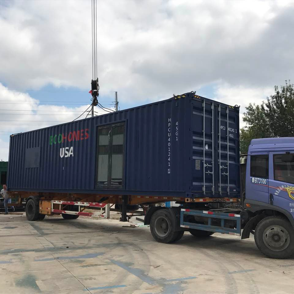40 foot steel container prefab house 3 bedroom container luxury house