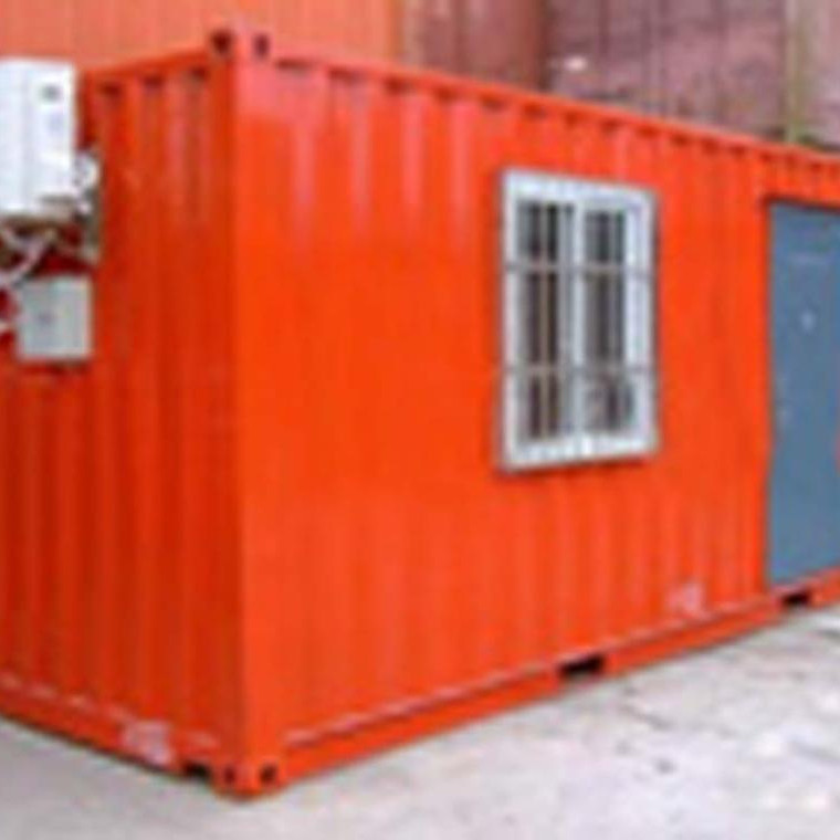 light steel frame prefabricated folding container warehouse shed for major supermarket chains