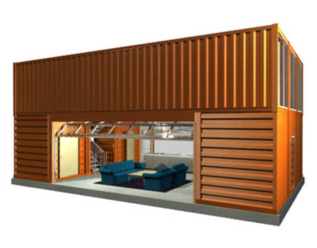 mobile living container house for sale