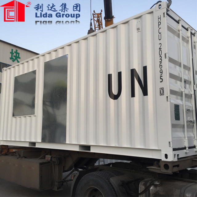 expandable ready made container house temporary
