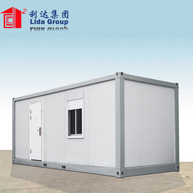 Movible modular container van house