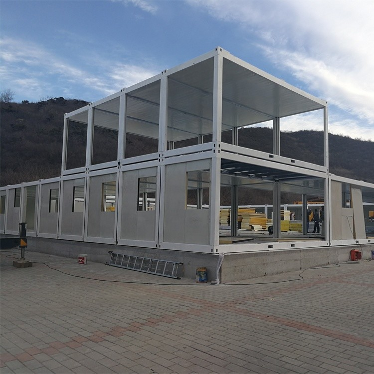 20ft steel container tiny house