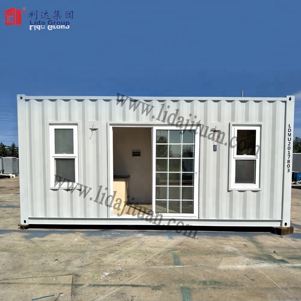 CONTAINER LAUNDRY HOUSE LOW COST EASY INSTALLATION