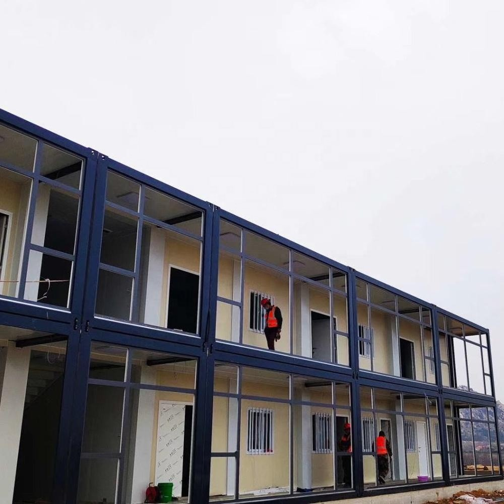 New Generation Sandwich Panel SteelContainer House, Fast Build Container Van