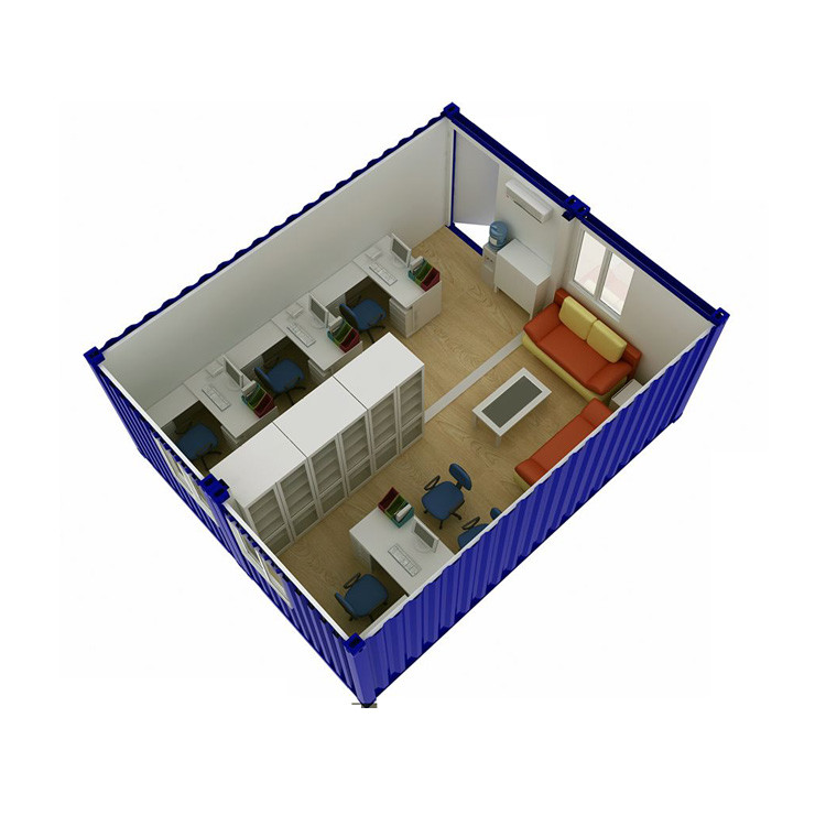10ft office container office prefabricated buildings