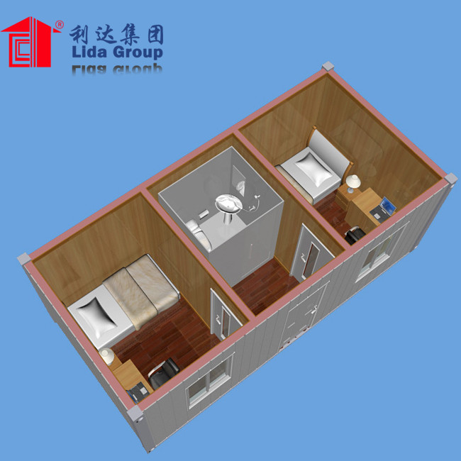 20ft prefab foldable container office
