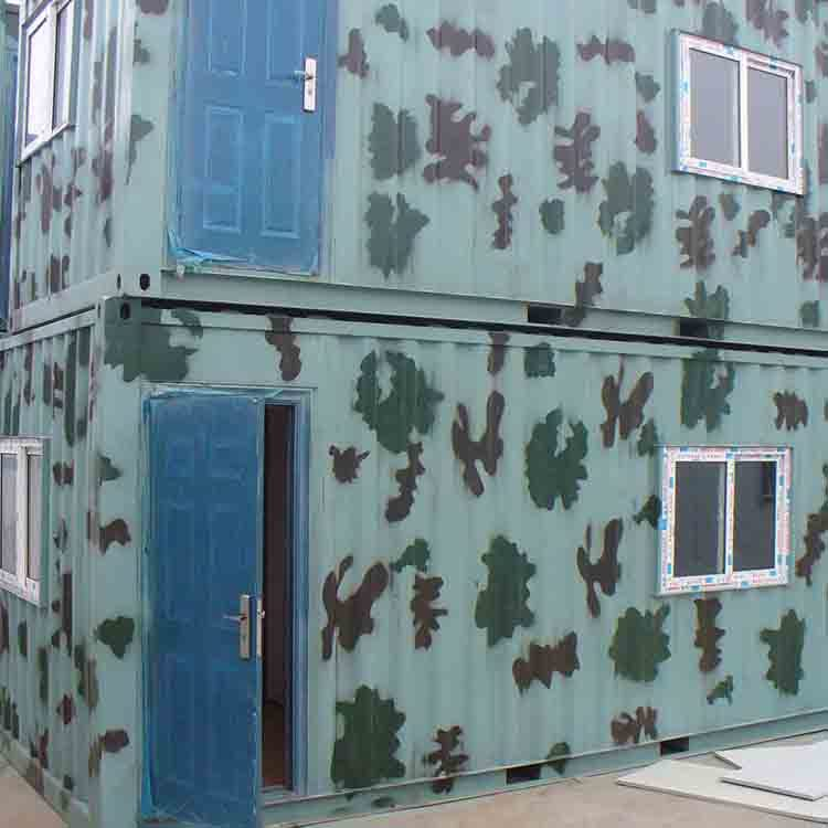 Portable house high quality steel structure factory prefabricated container hotel