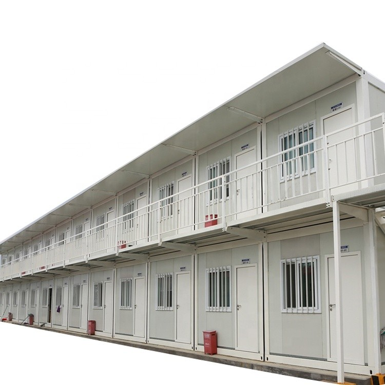 Ce Certification Duplex Prefab Houses Custom 40 Ft Easy Assemble Container House