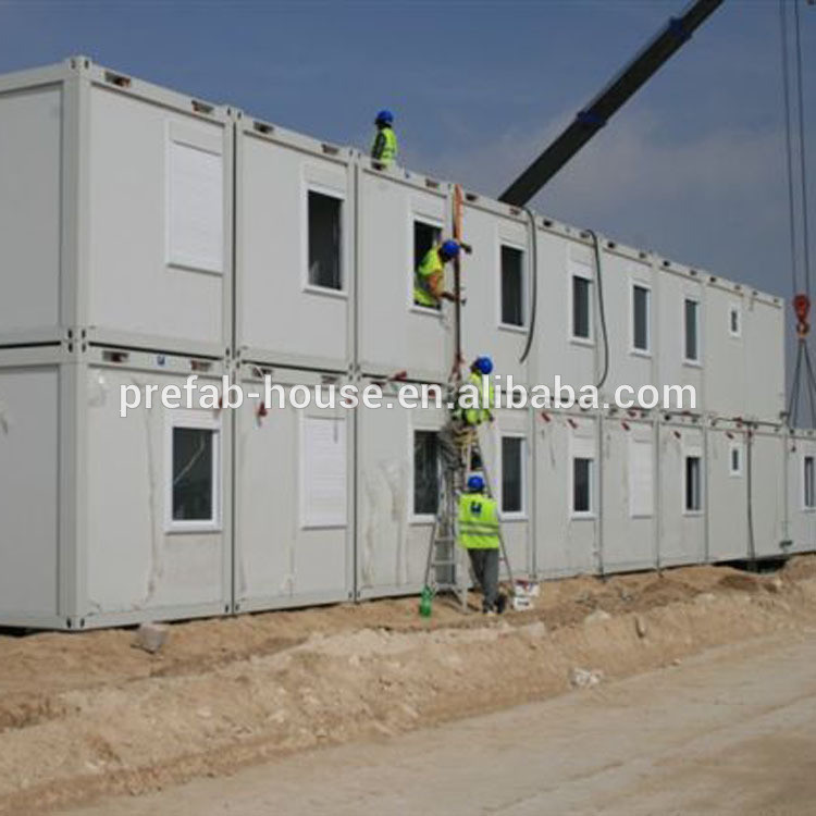 Prefabricated Modular 20ft Flat Pack Container Accommodation for Sale