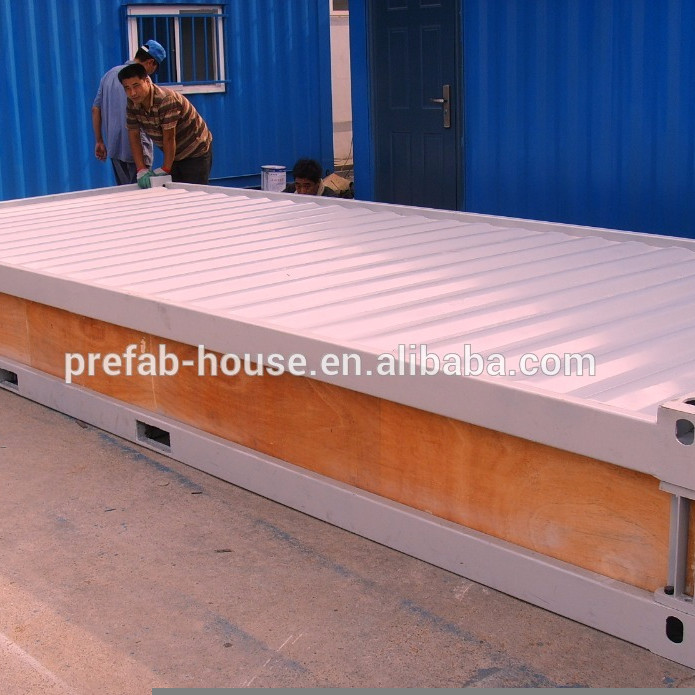 Professional supplier of low price 20ft and 40ft living container house