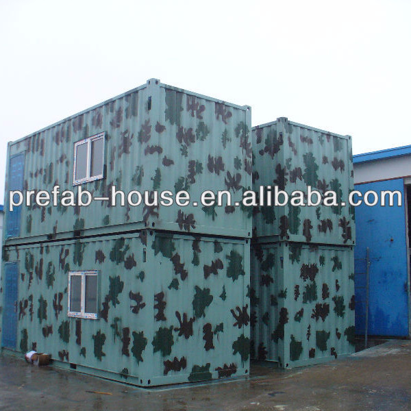 living 20ft container homes with complete appliance