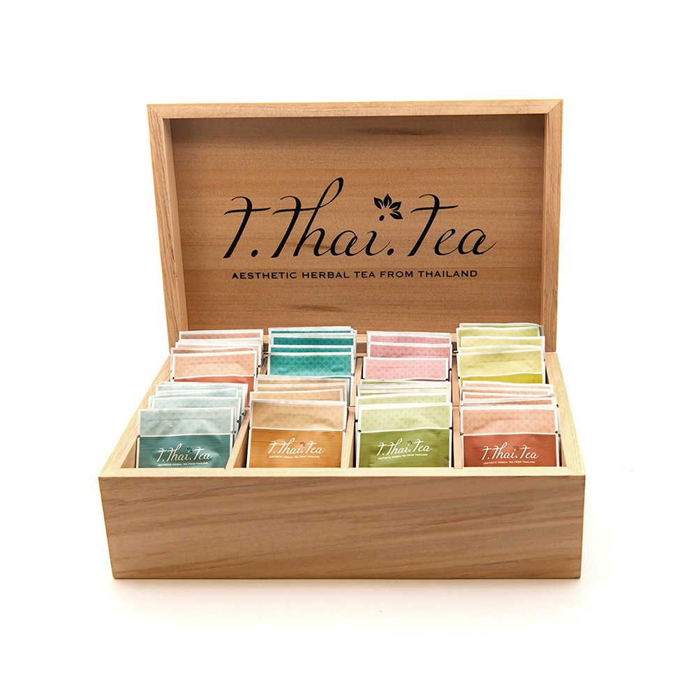 Custom High quality usefulpackaging gift wooden tea storage box