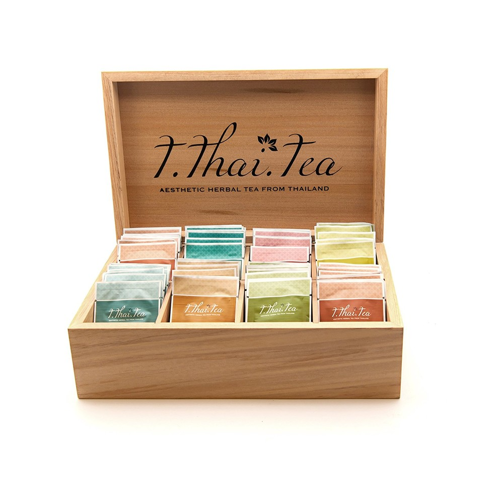 Custom High quality usefulpackaging gift wooden tea storage box