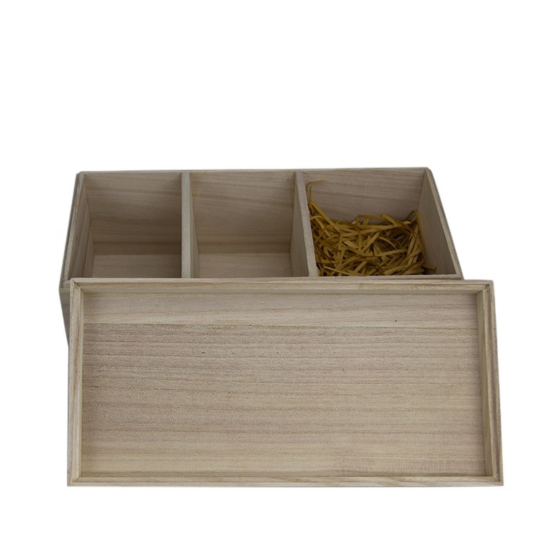 Wholesale Finished Gift Packaging Wood Box