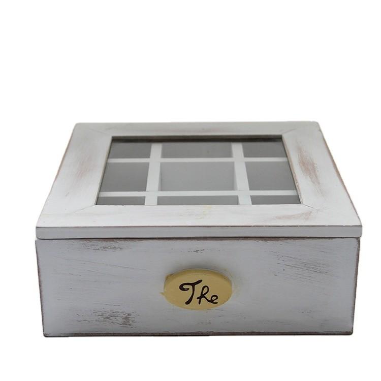 Gift Packaging Wooden Tea Box