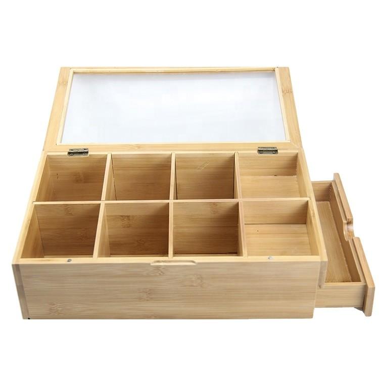 High quality custom design wooden box for tea leaf