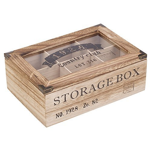 Hot sale luxury packaging gift wooden tea box