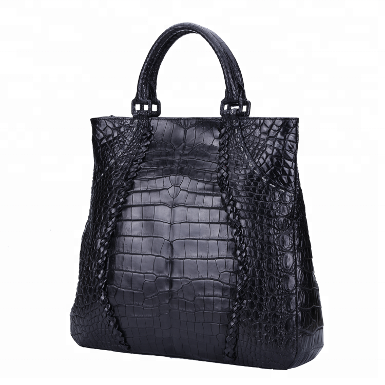 2020 new products fashion Designer ladies handbag women's handbag Genuine crocodile leather tote bag