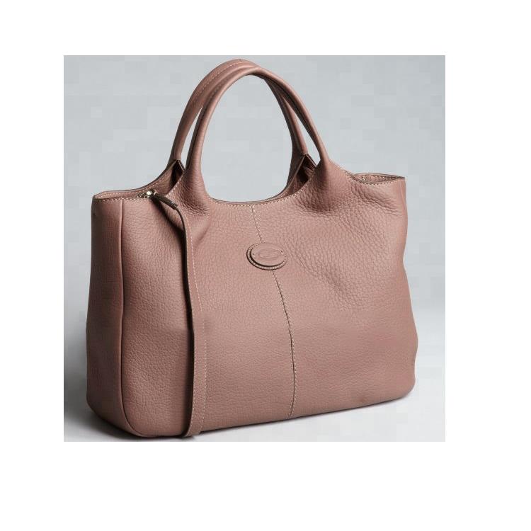 Gf-j219 2019 Womens Khaki Graine Leather Convertible Short Top Han bag