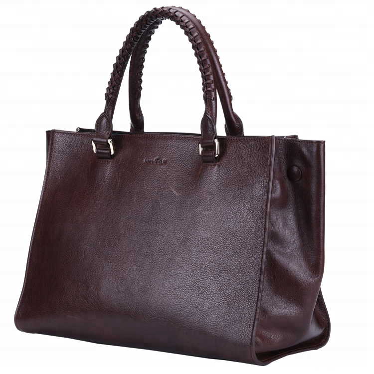 Hot Sale Large Volume Genuine Leather Tote Bag Casual Fashion Handbags for women