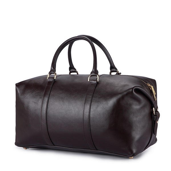 Pu leather Men's Duffel Gym Sports Travel Weekend Duffle Bag