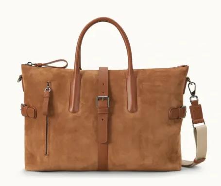 Custom Travel OrganizerBag Mens PU Handbags Multi-functional Duffle Bag For Men