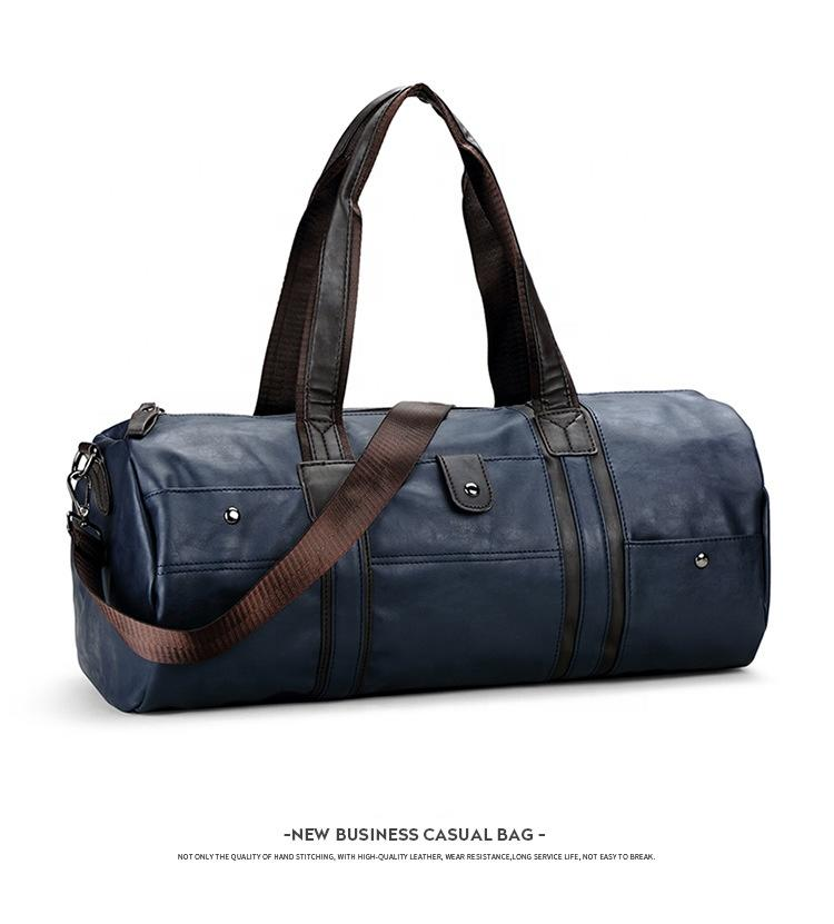 New business large capacity carry-on travel and casual bags for long distance moving trip high quality hardware duffle bag