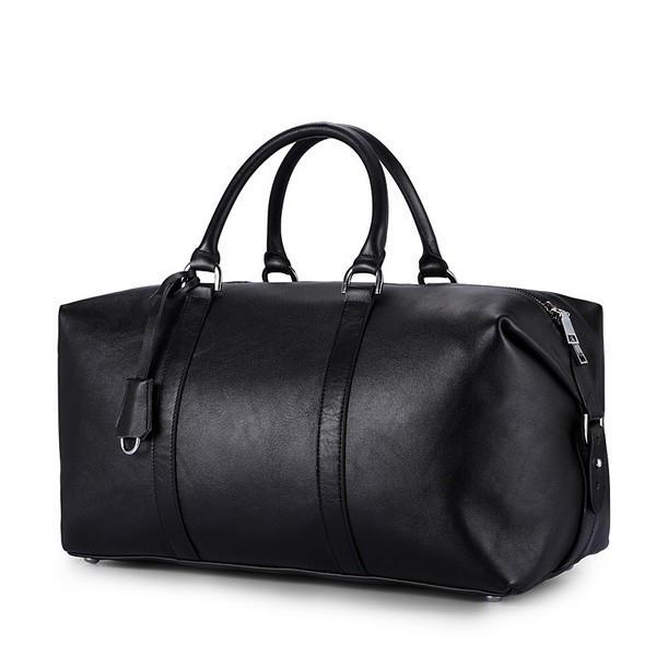 Pu leather Men's Duffel Gym Sports Travel Weekend Duffle Bag