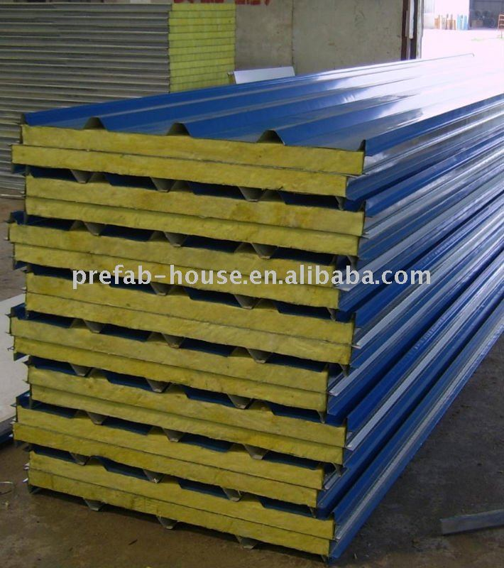 Color Steel Sandwich Panel for roof/wall