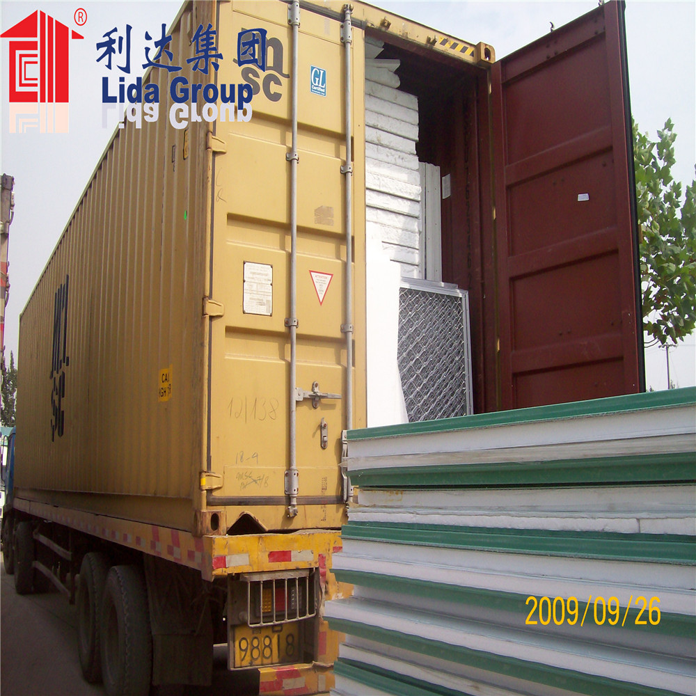 Best selling eps sandwich panel,corrugated sandwich panel