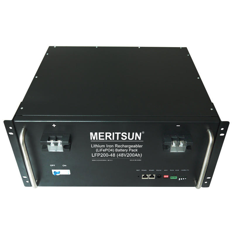 MeritSun Hot Sale li ion battery pcak 48v 40ah 60ah 100ah 150ah 200ah for energy Storage system