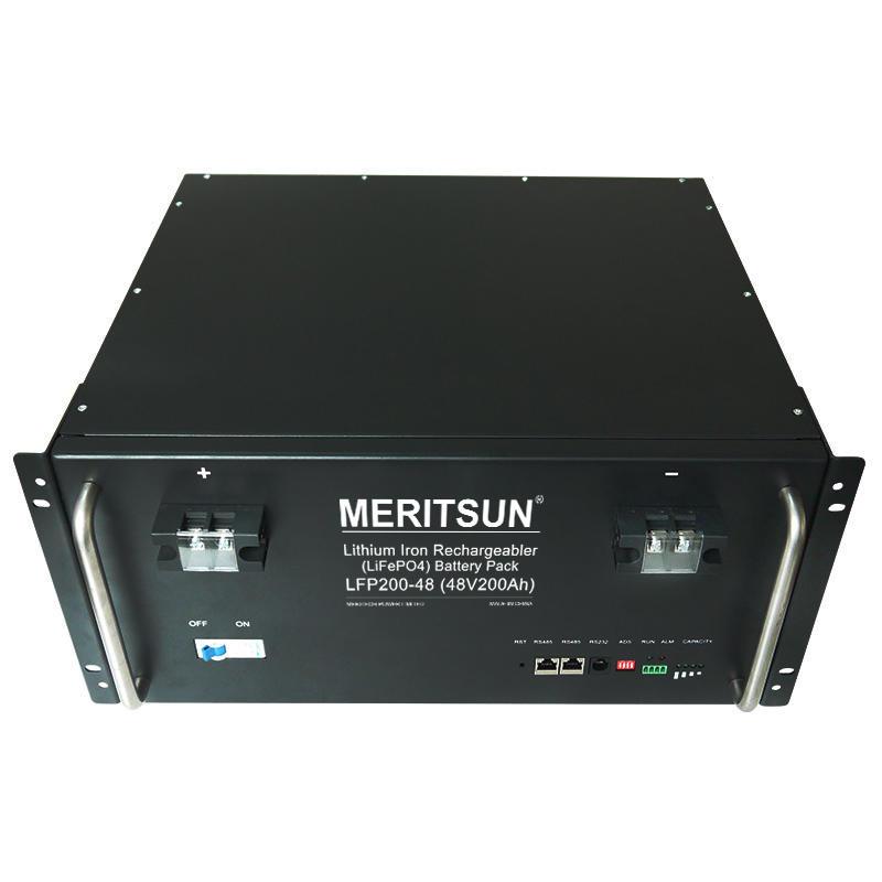 Lithium Ion Lifepo4 Battery Pack Li-ion 48v 200ah Solar Energy Storage Systems Uninterruptible Power Supplies