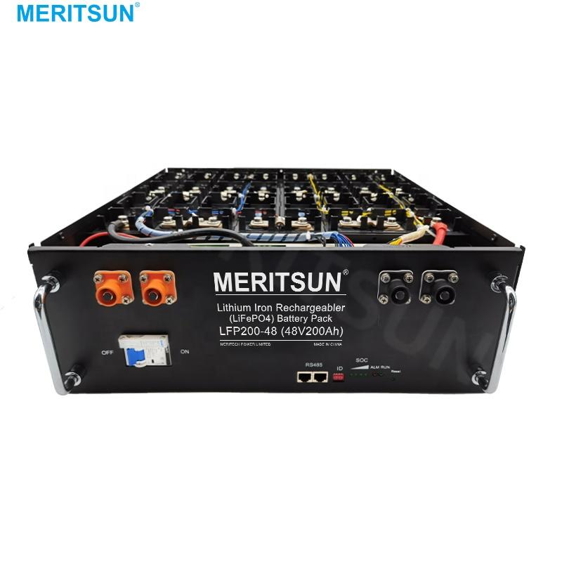 MeritSun High quality Customized rechargeable 200ah 48v electric bicycle lithium lifepo4 battery