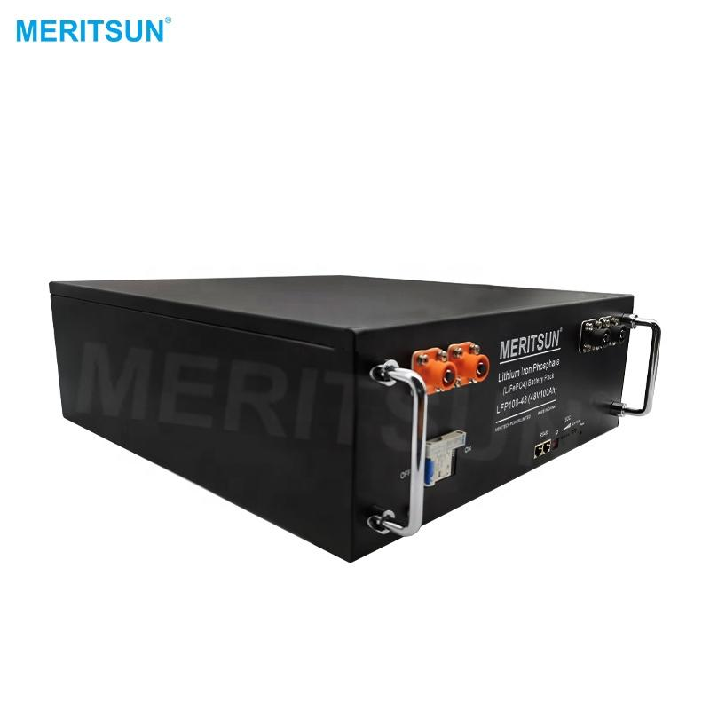 Deep Cycle 48v 100ah Battery Lithium Ion 5kwh Lithium Battery Home With Smart BMS