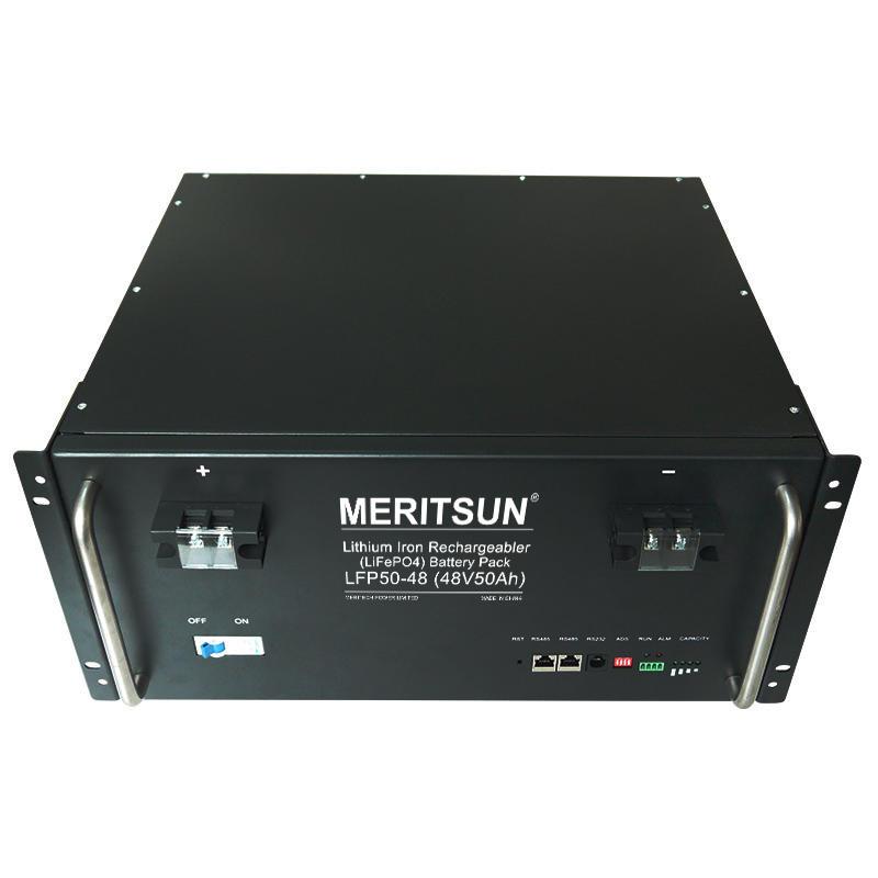 New 4U 48V 50Ah ESS Energy Storage System LiFePO4 Lithium Battery Pack