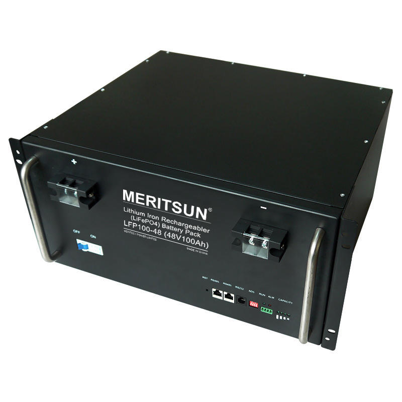 High Quality 48V 50ah 100ah Deep Cycle Rechargeable Lithium Ion Solar BatteriesLifepo4 with BMS
