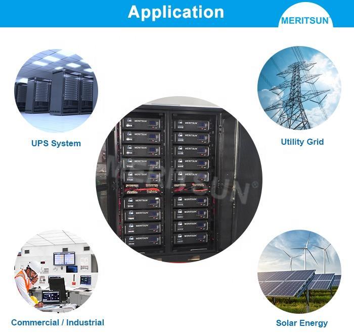 MeritSun Lithium ion Battery High Voltage 10kWH 48V 51.2V Li-ion Lithium Battery with BMS System