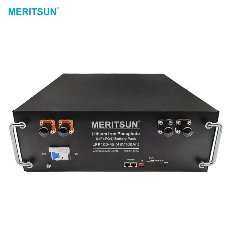MeritSun 48V 100Ah Lithium Battery 2020 Newest Energy Storage Battery Lithium Ion Solar Battery