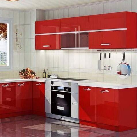 Good Quality High End Modern Designs Kitchen Cabinet Kitchen Storage Cabinet European Style