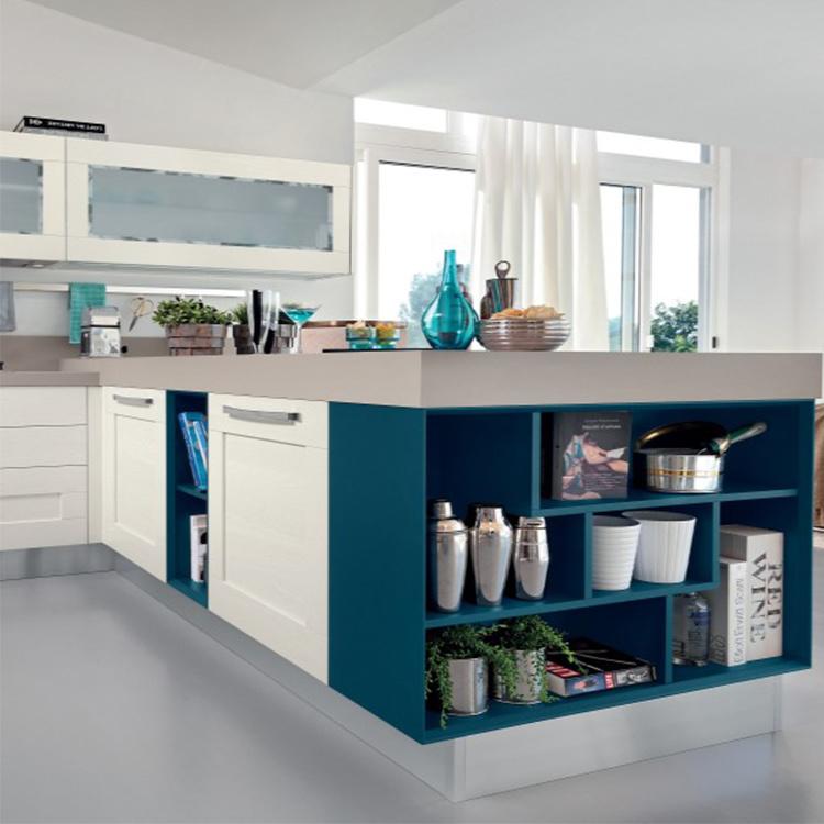 Manufacture Solid Wood Modern Luxury Kitchen Cabinet