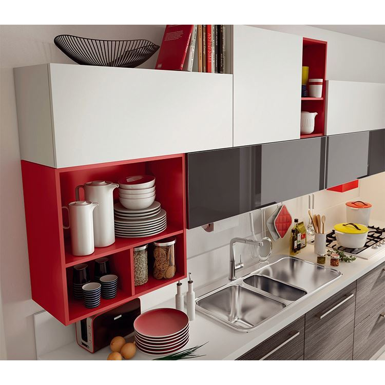 Apartment Classic Ready Made Modern Kitchen Cabinets