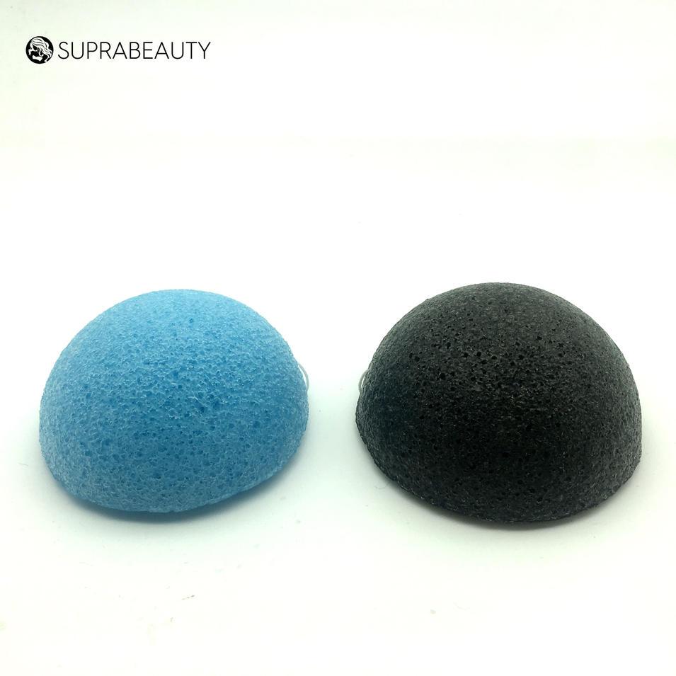 wholesale 100% natural glucomannan facial sponge organic konjac sponge