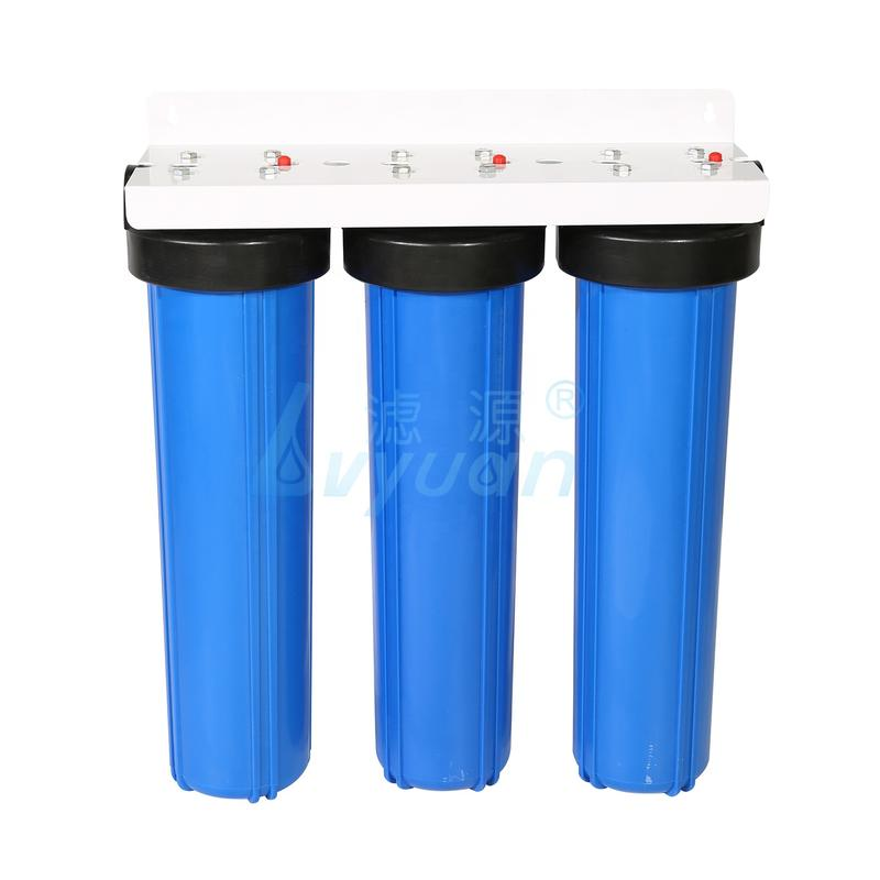 20'' transparent water filter and 20 inch big blue water filter housing