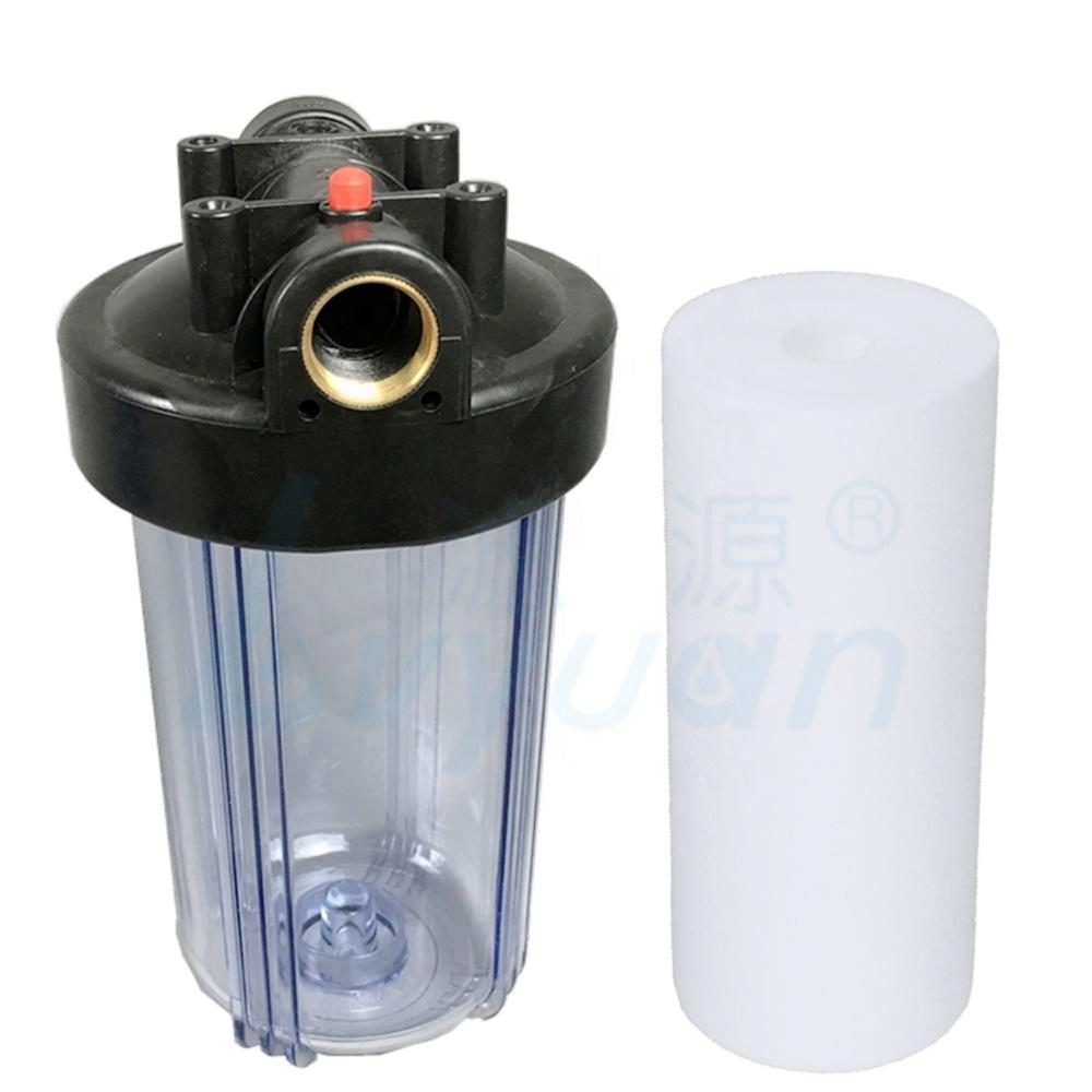 5 10 20 inch jumbo pp sediment filter transparent or blue filter housing for water treatment