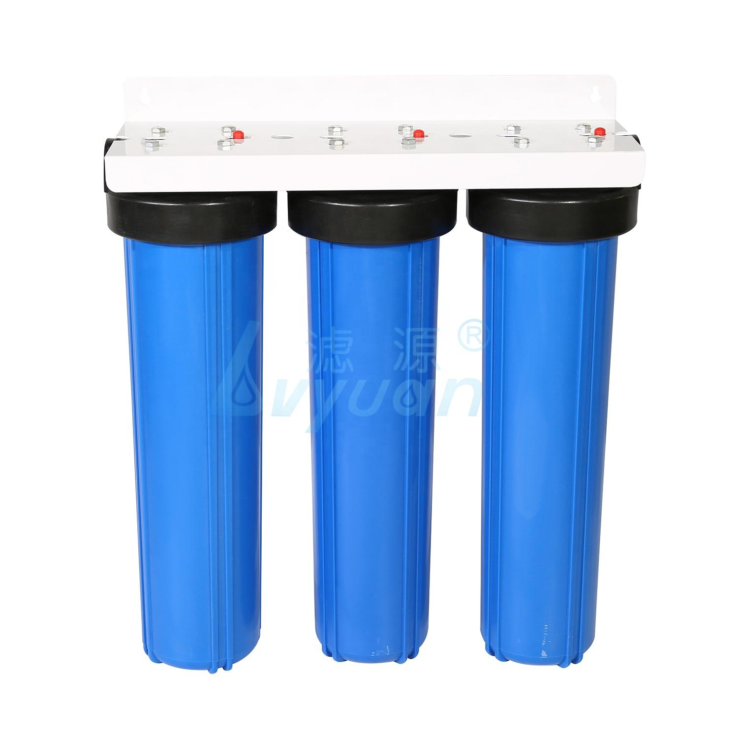 water system filter big blue water filter housing 10 inch water filter for pre filtration