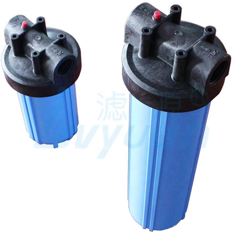 bb filter housing jumbo water filter housing transparent or blue housing with 5 10 20 inch
