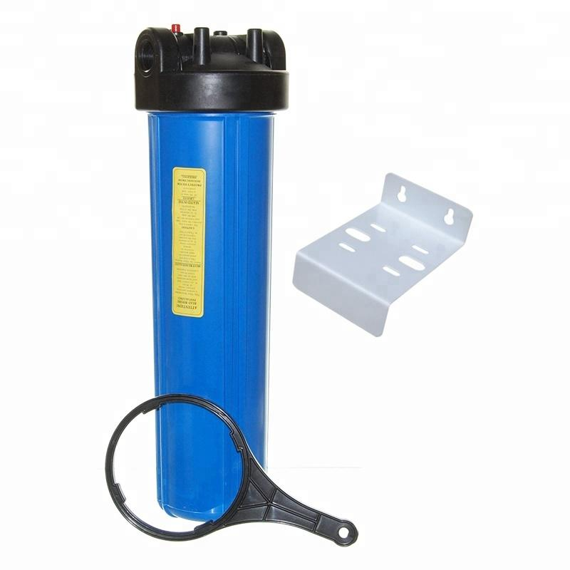 Prefiltration 1 2 3 stage 10 20 inch big blue water filter housing for water treatment