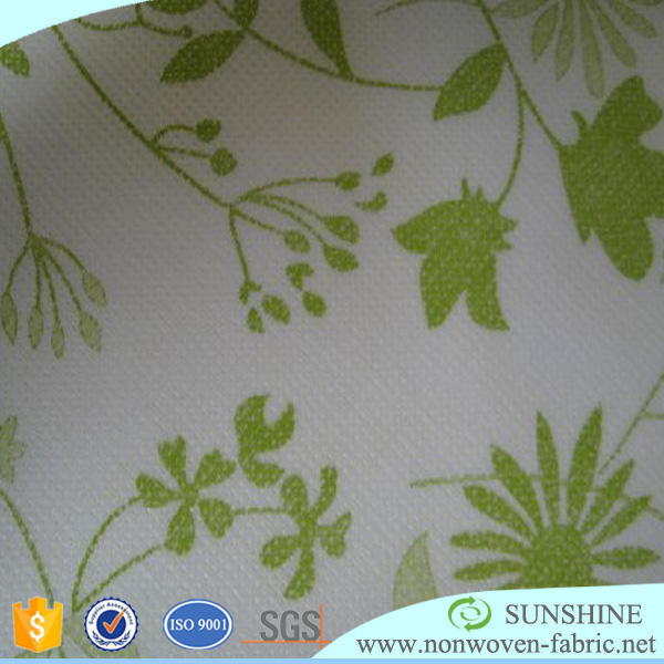 non woven fabric roll 4 color flexo printing nonwoven print tela kilo
