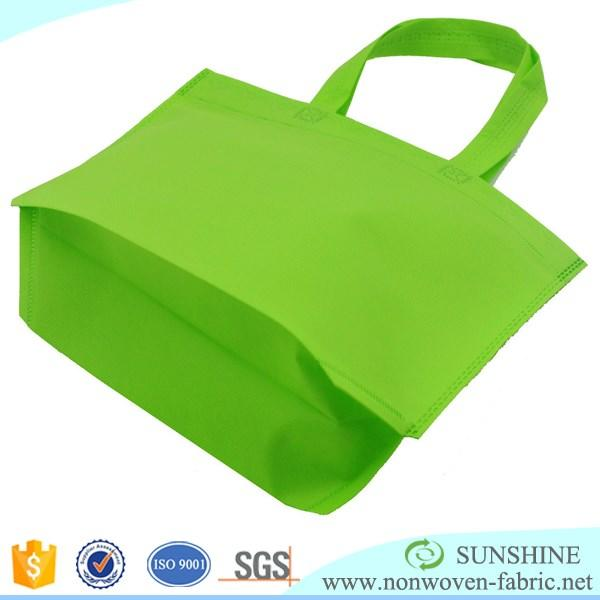 Quanzhou factory eco-friendly fabric cheap China customized high quality D cut PP non woven bag, Pp tnt grocery bag